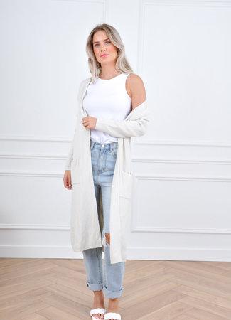 Lina vest beige