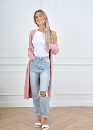 Lina vest pink