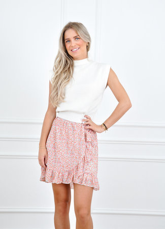 Laura skirt orange