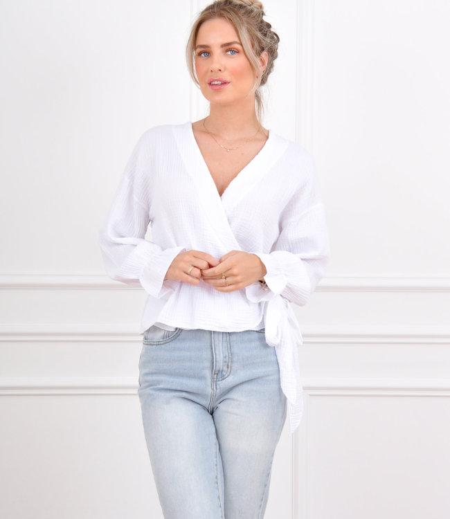 Anouk top white
