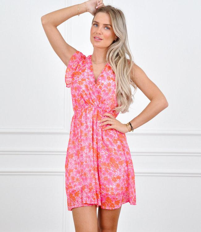 Rachel dress pink