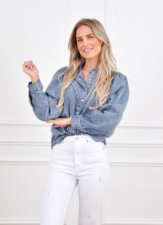 Jany blouse blue