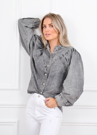 Jany blouse grey