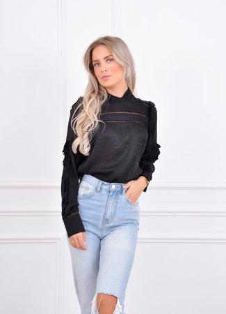 Carmen blouse black