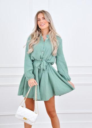 Diana dress mint