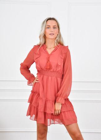 Aya dress red