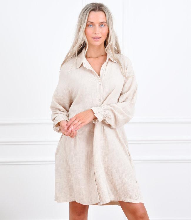 Joannie dress beige