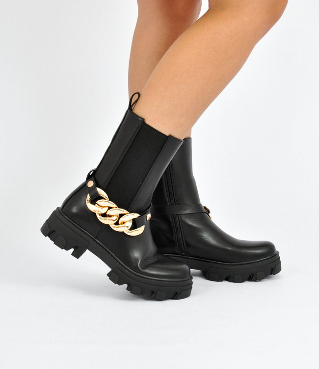 Indy boots black