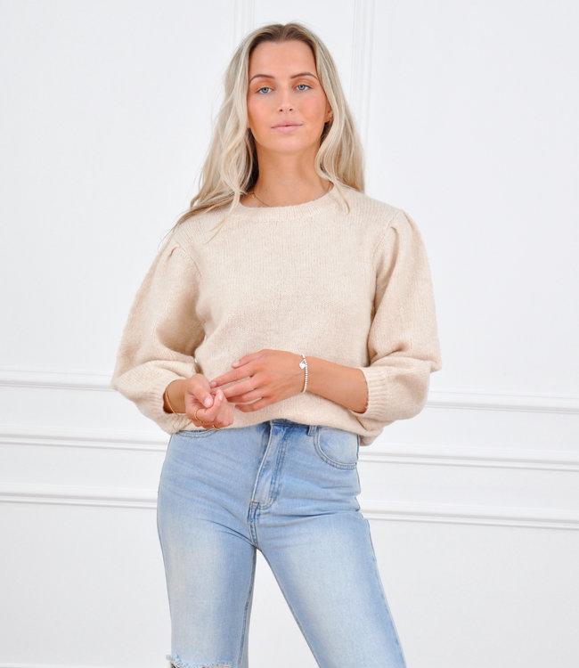 Nikkie knit beige