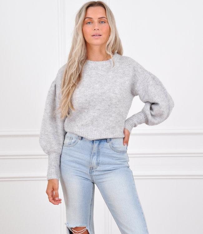 Jolie sweater grey