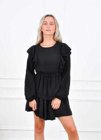 Dewi dress black