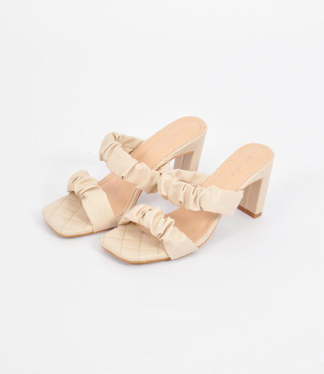 Novee heels beige