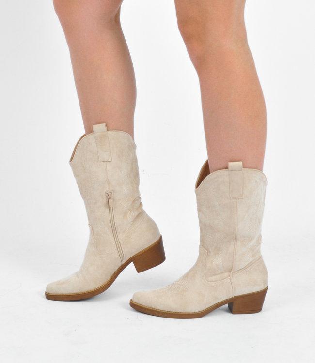 Saar boots beige