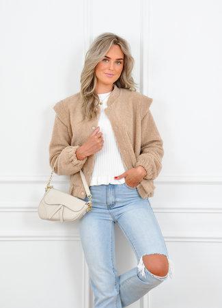 Roza teddy jacket