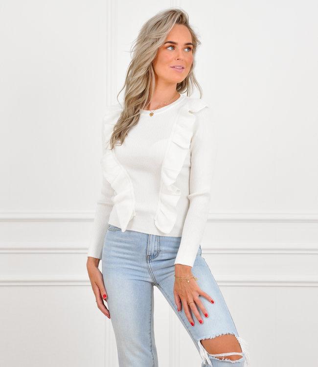 Yada knit white
