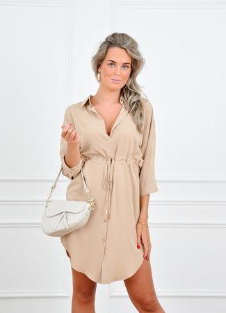 Yoelle dress camel