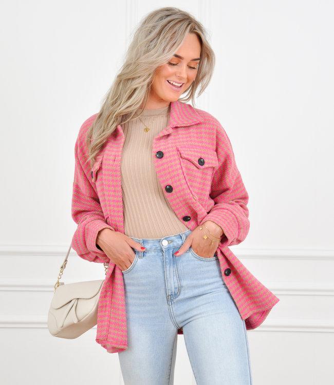 Lexi jacket pink