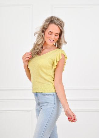 Fien top yellow