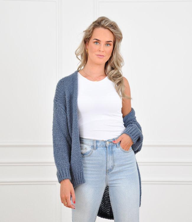 Jessie vest jeans blue