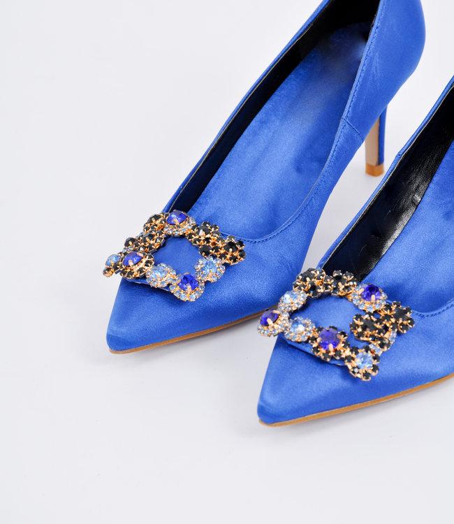 Fleur heels blue