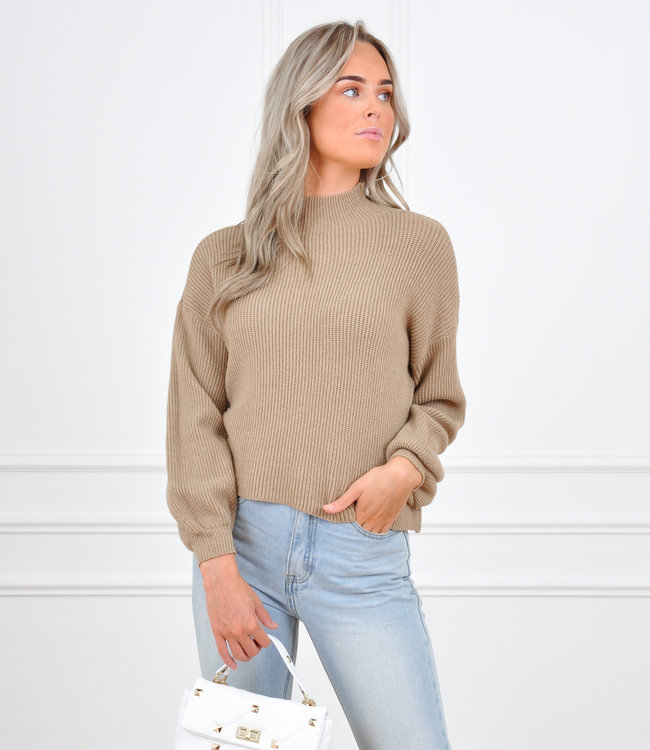 Mosey sweater camel