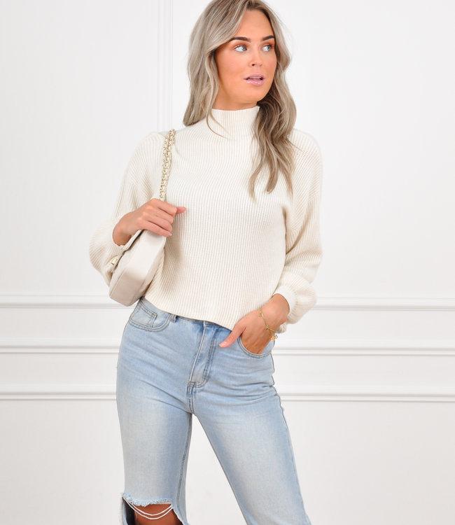 Mosey sweater beige