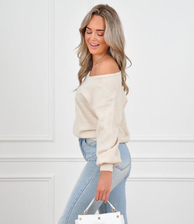 Cilian knit beige