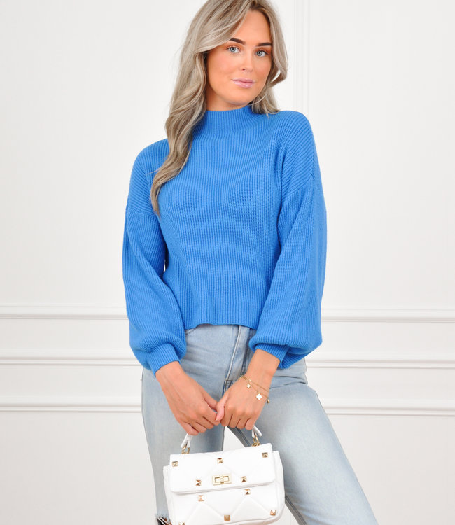 Mosey sweater blue