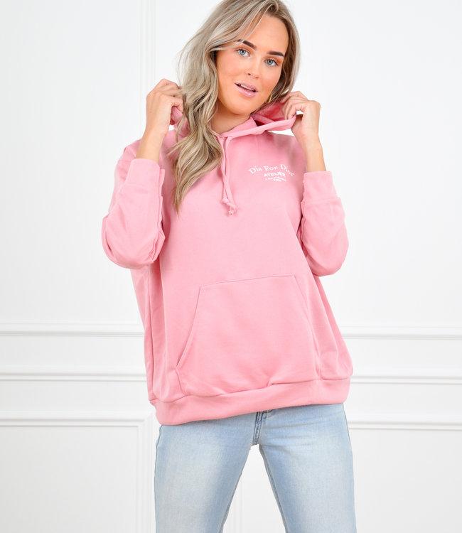 Adore hoodie pink