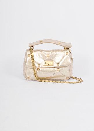 Stud bag gold