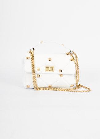 Stud bag white