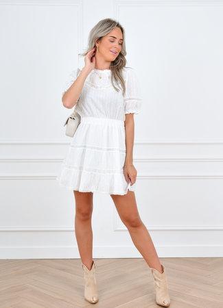 Momo dress white