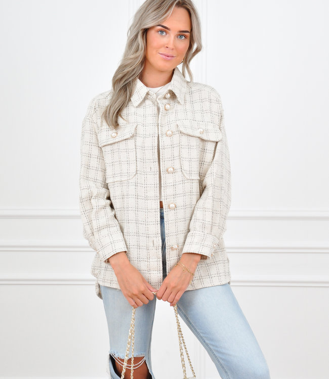 Zara jacket white