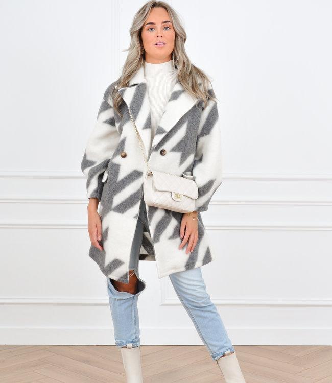 Isabelle coat grey