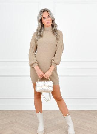 Gwen dress brown