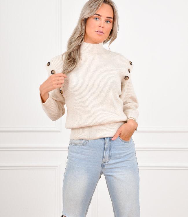 Rina knit beige