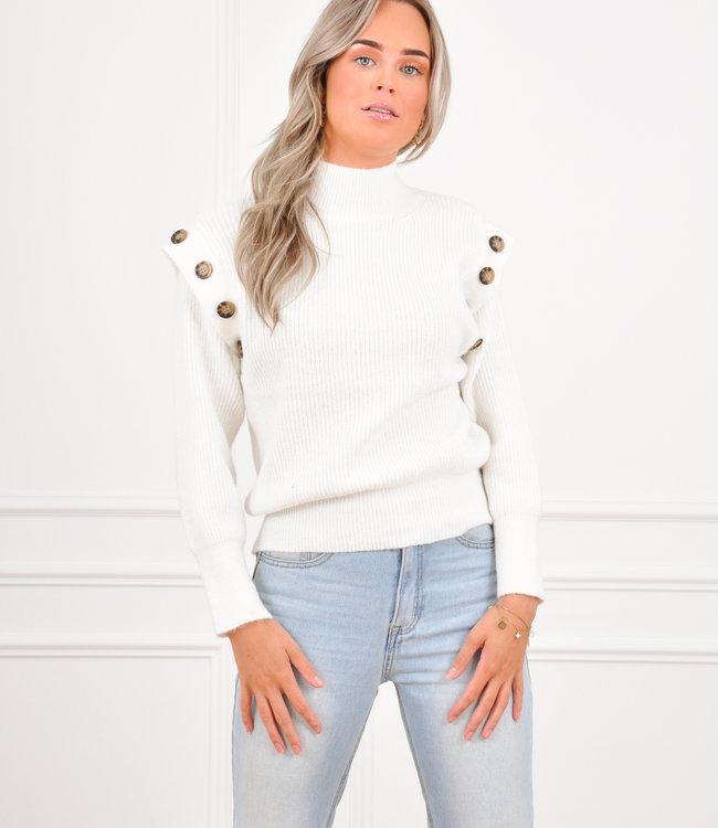 Rina knit white