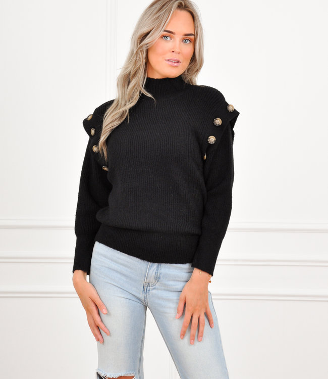 Rina knit black