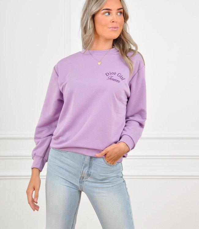 Negin sweater lila