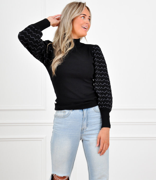 Bibi knit black