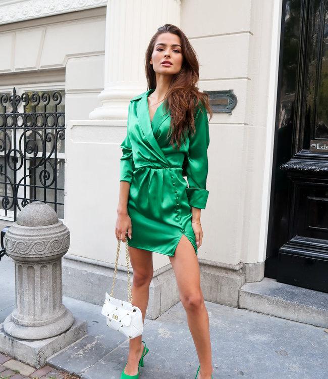 Liv dress green