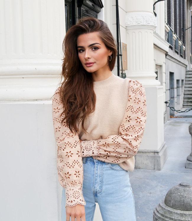 Kate knit beige