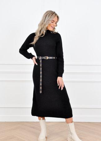 Carlijn knit dress black