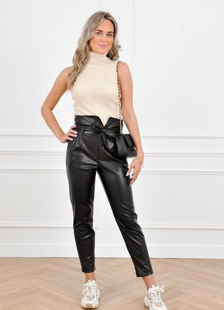 Zoe leather pants