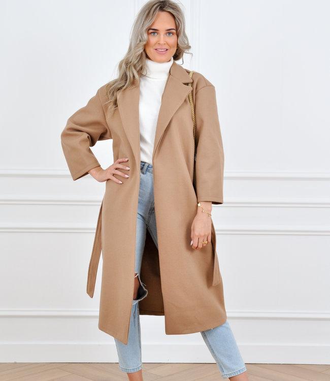 Hannah coat camel