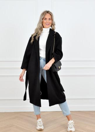 Hannah coat black