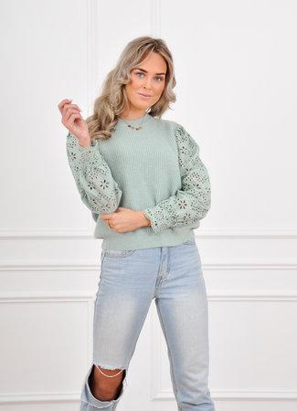 Kate knit mint