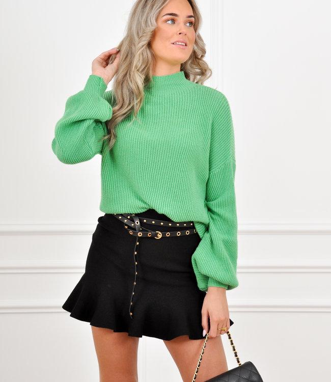Lexie knit green
