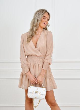 Roxie dress beige