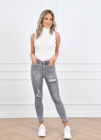 Lisa jeans grey